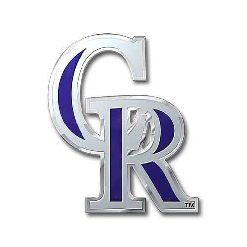 Colorado Rockies Auto Emblem Color Special Order