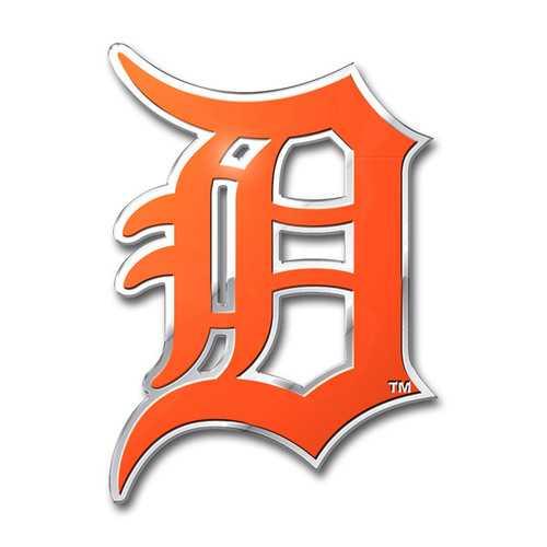 Detroit Tigers Auto Emblem Color