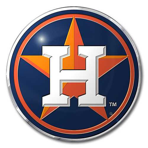 Houston Astros Auto Emblem Color