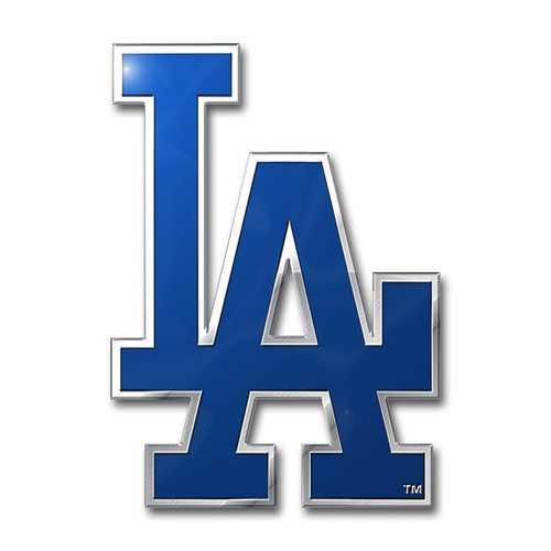 Los Angeles Dodgers Auto Emblem Color