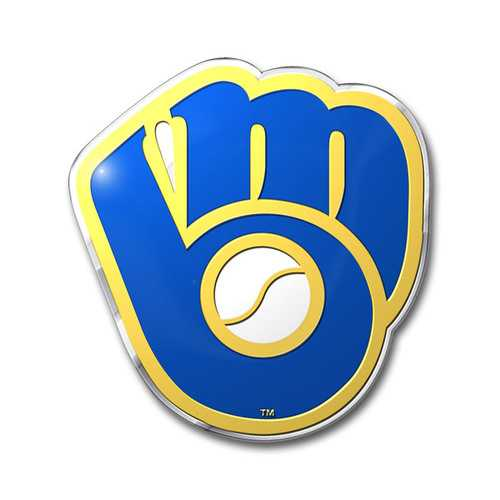 Milwaukee Brewers Auto Emblem Color Special Order