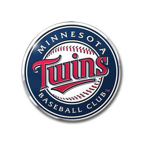 Minnesota Twins Auto Emblem Color