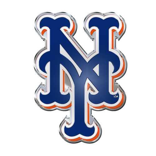 New York Mets Auto Emblem Color