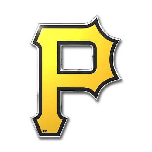 Pittsburgh Pirates Auto Emblem Color