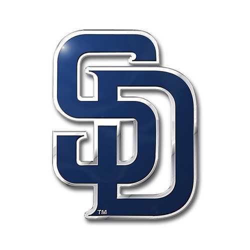San Diego Padres Auto Emblem Color