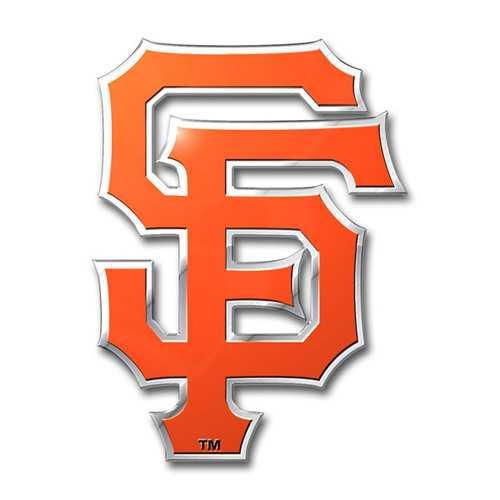 San Francisco Giants Auto Emblem Color