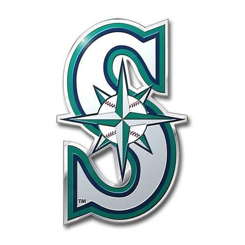 Seattle Mariners Auto Emblem - Color