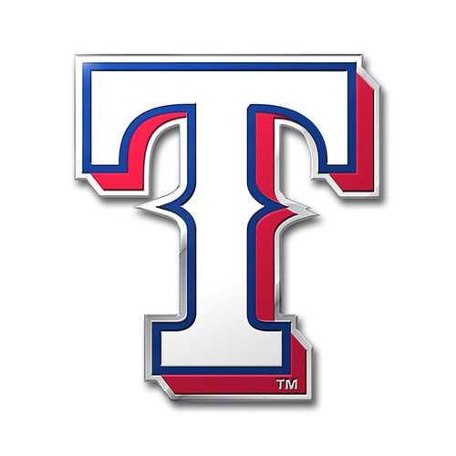 Texas Rangers Auto Emblem Color