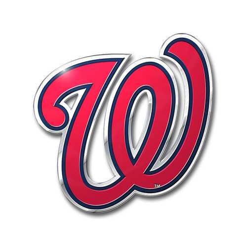 Washington Nationals Auto Emblem Color