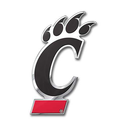 Cincinnati Bearcats Auto Emblem - Color