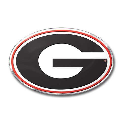 Georgia Bulldogs Auto Emblem - Color