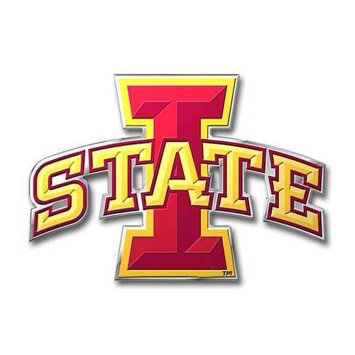 Iowa State Cyclones Auto Emblem - Color
