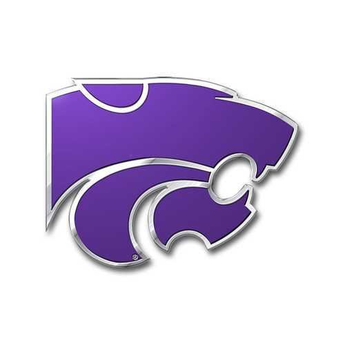 Kansas State Wildcats Auto Emblem - Color