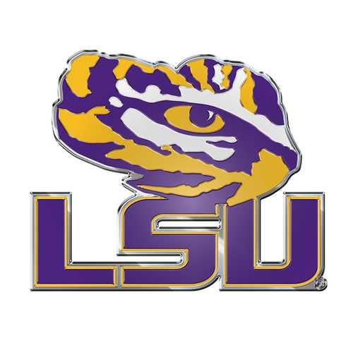 LSU Tigers Auto Emblem - Color