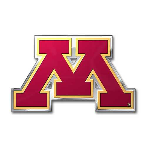 Minnesota Golden Gophers Auto Emblem - Color Special Order