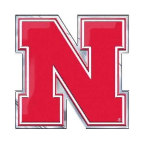 Nebraska Cornhuskers Auto Emblem - Color