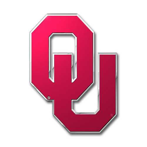 Oklahoma Sooners Auto Emblem - Color
