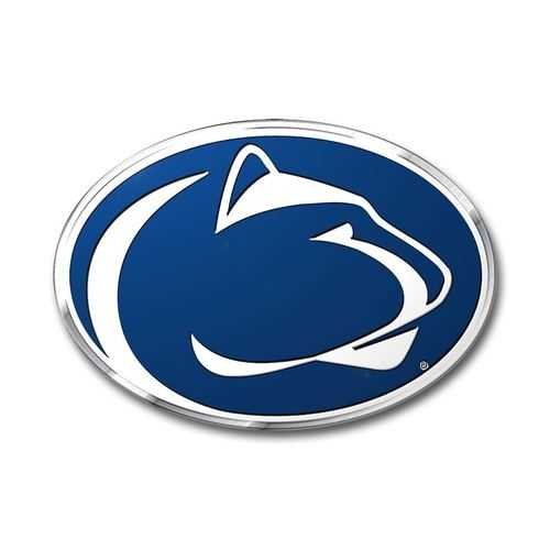Penn State Nittany Lions Auto Emblem - Color