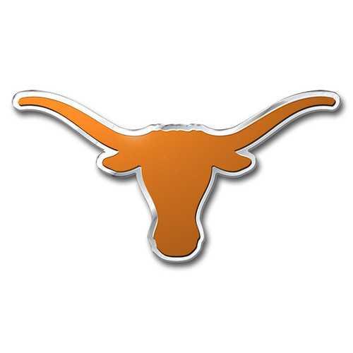 Texas Longhorns Auto Emblem - Color