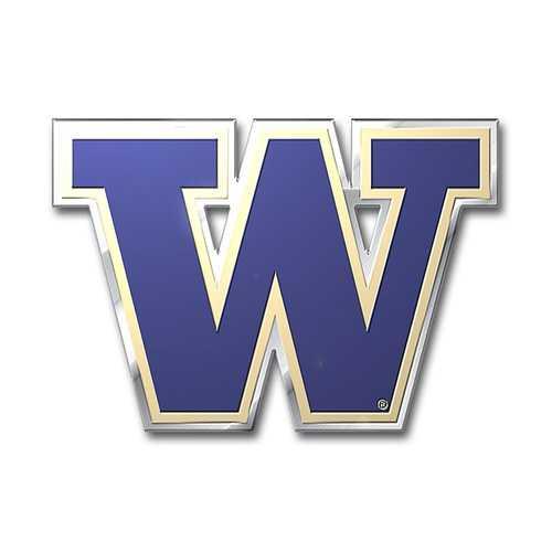 Washington Huskies Auto Emblem - Color