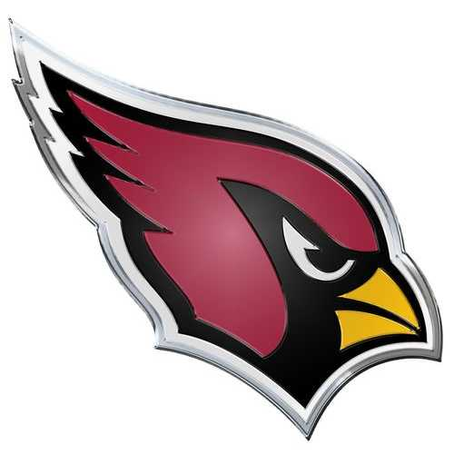 Arizona Cardinals Auto Emblem - Color