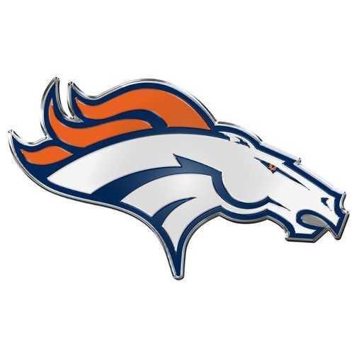 Denver Broncos Auto Emblem - Color