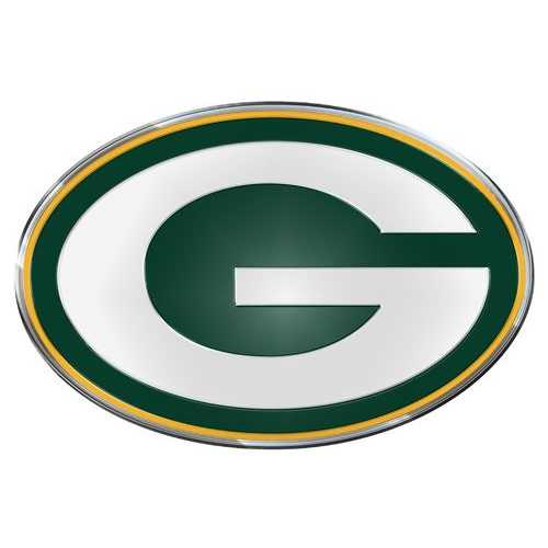 Green Bay Packers Auto Emblem - Color