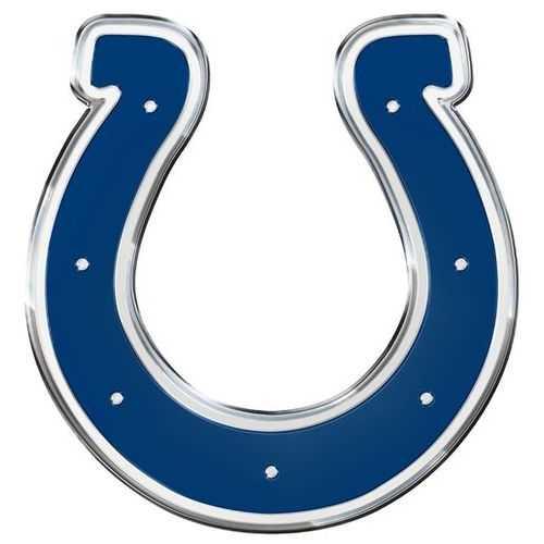 Indianapolis Colts Auto Emblem - Color