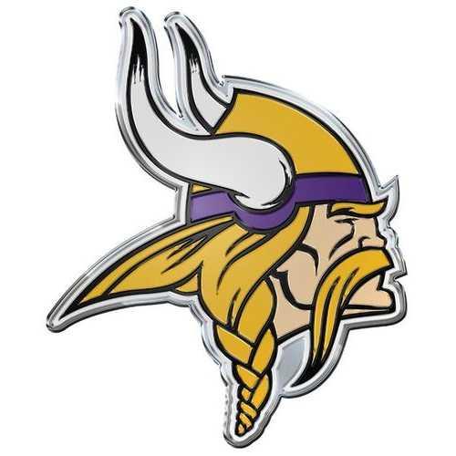 Minnesota Vikings Auto Emblem - Color