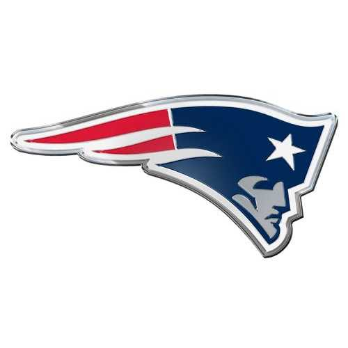 New England Patriots Auto Emblem - Color