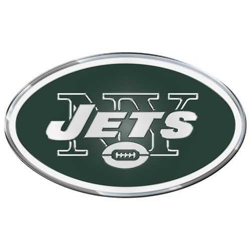 New York Jets Auto Emblem - Color