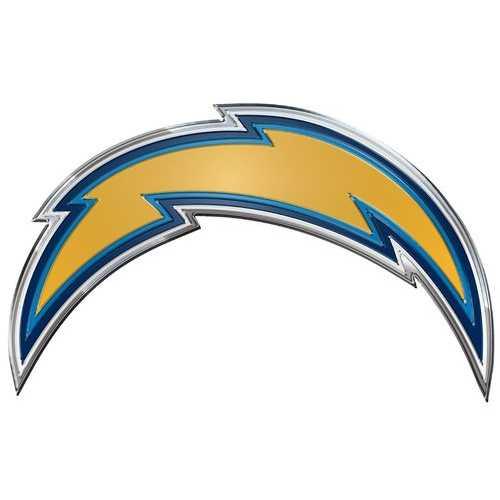Los Angeles Chargers Auto Emblem - Color