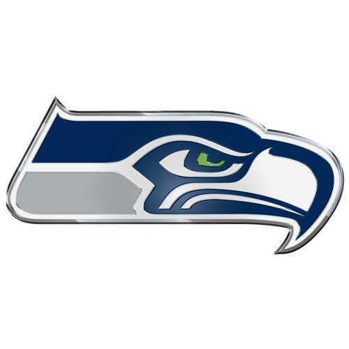 Seattle Seahawks Auto Emblem - Color