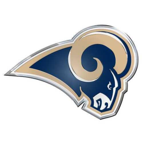 Los Angeles Rams Auto Emblem - Color