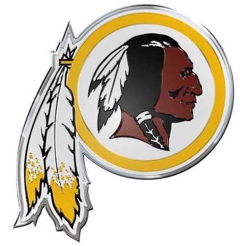 Washington Redskins Auto Emblem - Color