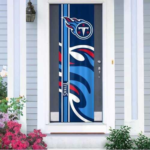 Tennessee Titans Banner Door