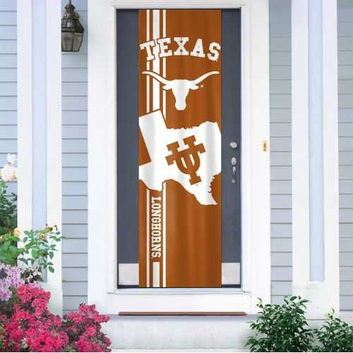 Texas Longhorns Banner Door