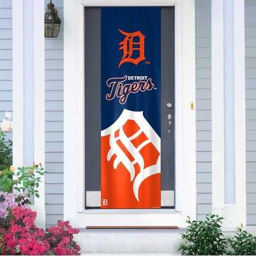 Detroit Tigers Banner Door