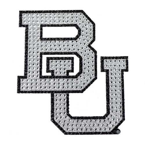 Baylor Bears Auto Emblem - Rhinestone Bling