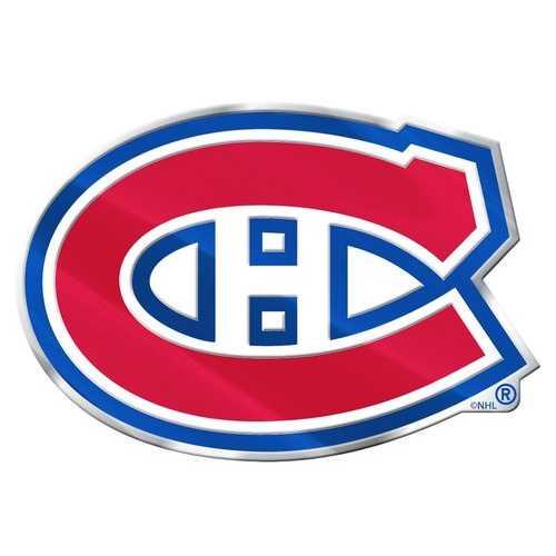Montreal Canadiens Auto Emblem - Color