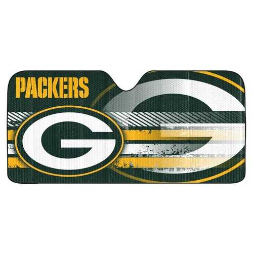 "Green Bay Packers Auto Sun Shade - 59""x27"""