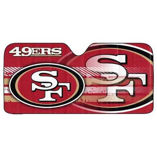 "San Francisco 49ers Auto Sun Shade - 59""x27"""