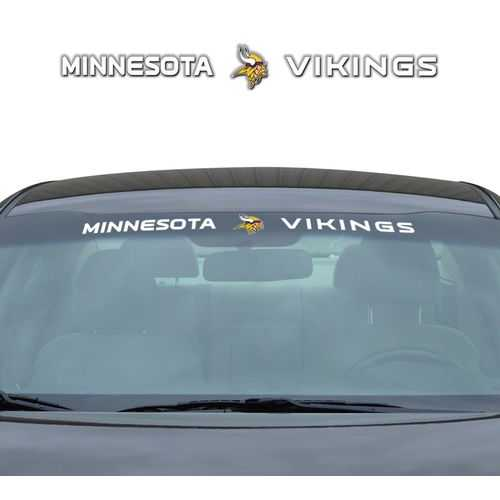 Minnesota Vikings Decal 35x4 Windshield