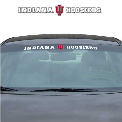 Indiana Hoosiers Decal 35x4 Windshield Special Order