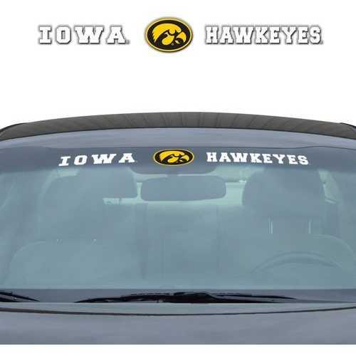 Iowa Hawkeyes Decal 35x4 Windshield