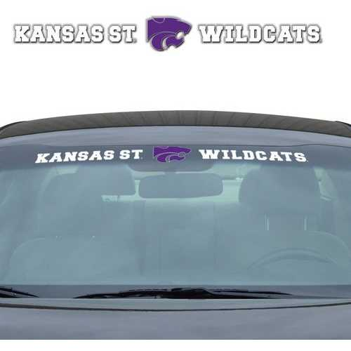 Kansas State Wildcats Decal 35x4 Windshield Special Order