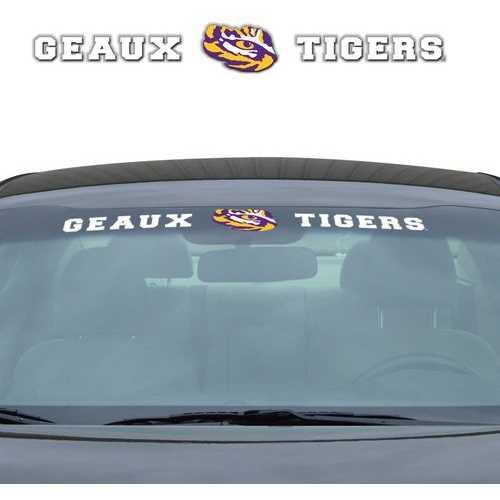 LSU Tigers Decal 35x4 Windshield