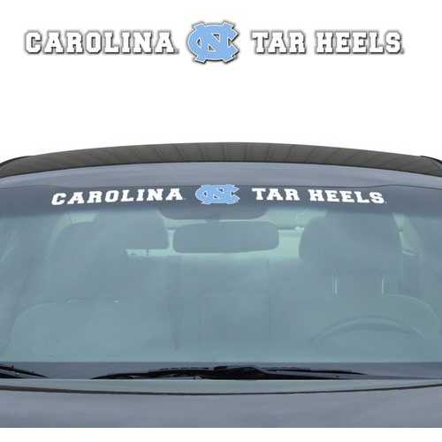 North Carolina Tar Heels Decal 35x4 Windshield