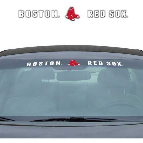 Boston Red Sox Decal 35x4 Windshield