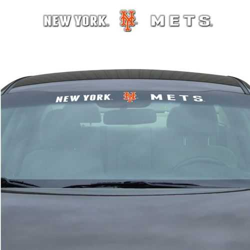 New York Mets Decal 35x4 Windshield Special Order